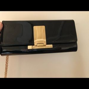 Aldo Patent Leather Clutch (Used once!)